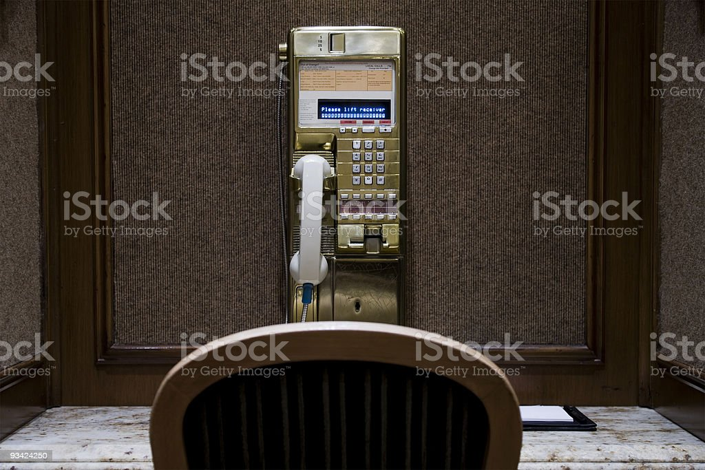 Public Phone royalty-free stock photo