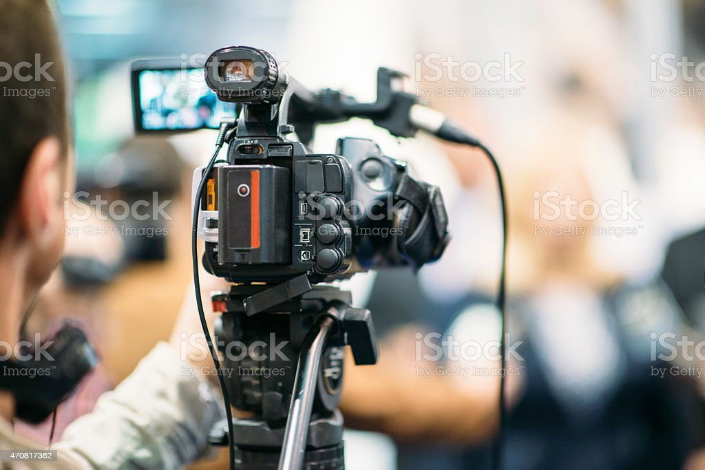 Public Relations royalty-free stock photo