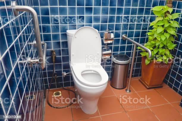 Public restroom for disabled and elderly people handicap toilet picture id1060410088?b=1&k=6&m=1060410088&s=612x612&h=nrm17 7lv53vec0hz9ijzxy8rzdew4uboamjzonpwhu=