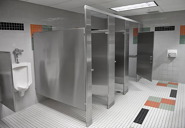 Public Restroom stock photo