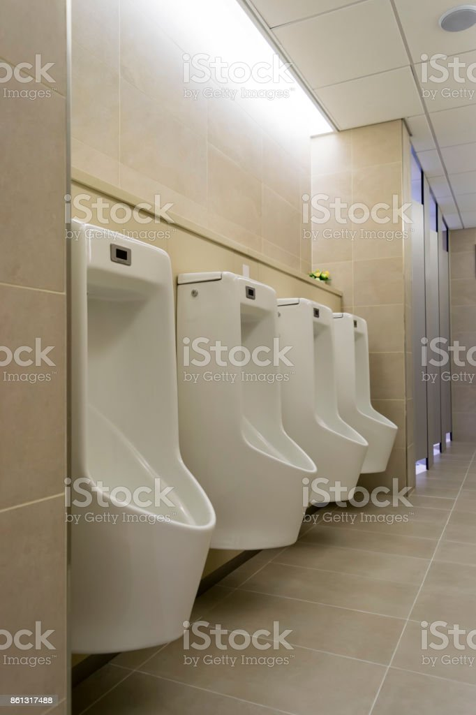 Public restrooms in Korea stock photo