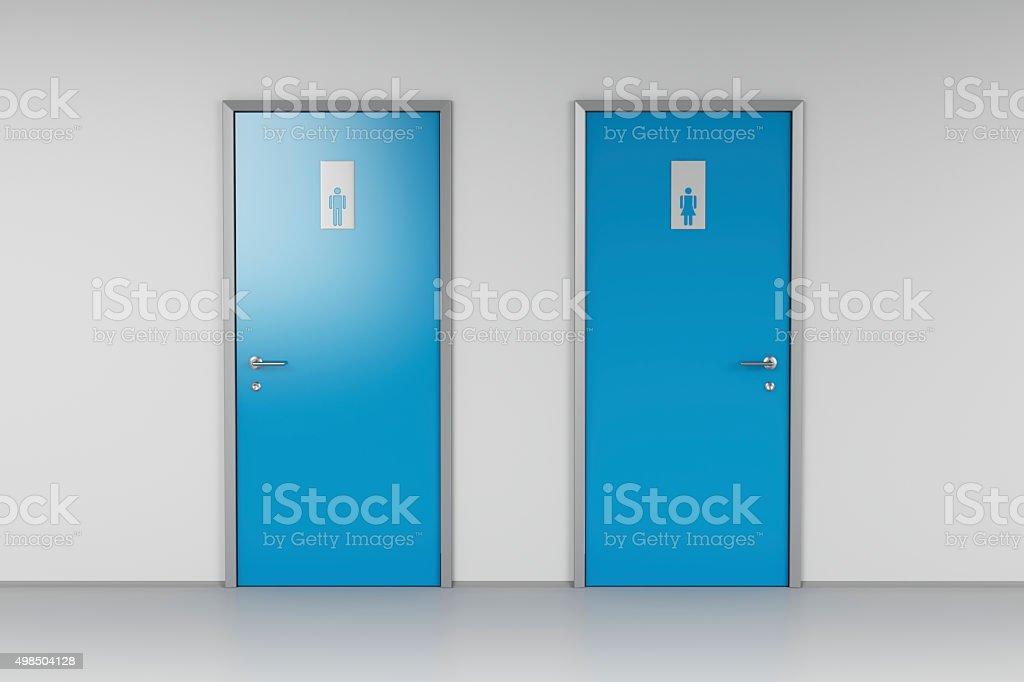 public bathroom doors. Public Toilet Stock Photo Bathroom Doors I