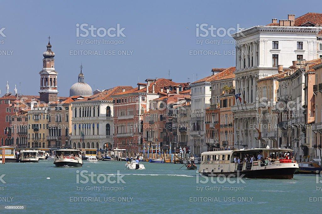 Public transport in Venice royalty-free stock photo