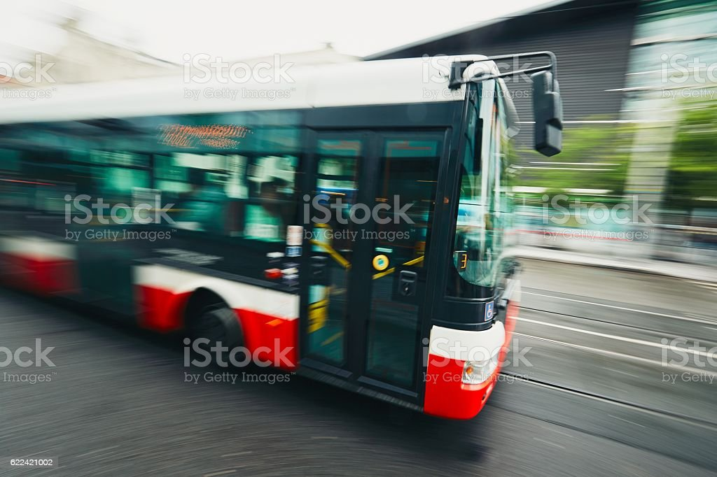 Public transportation stock photo
