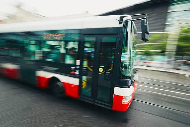 Transporte público - foto de stock