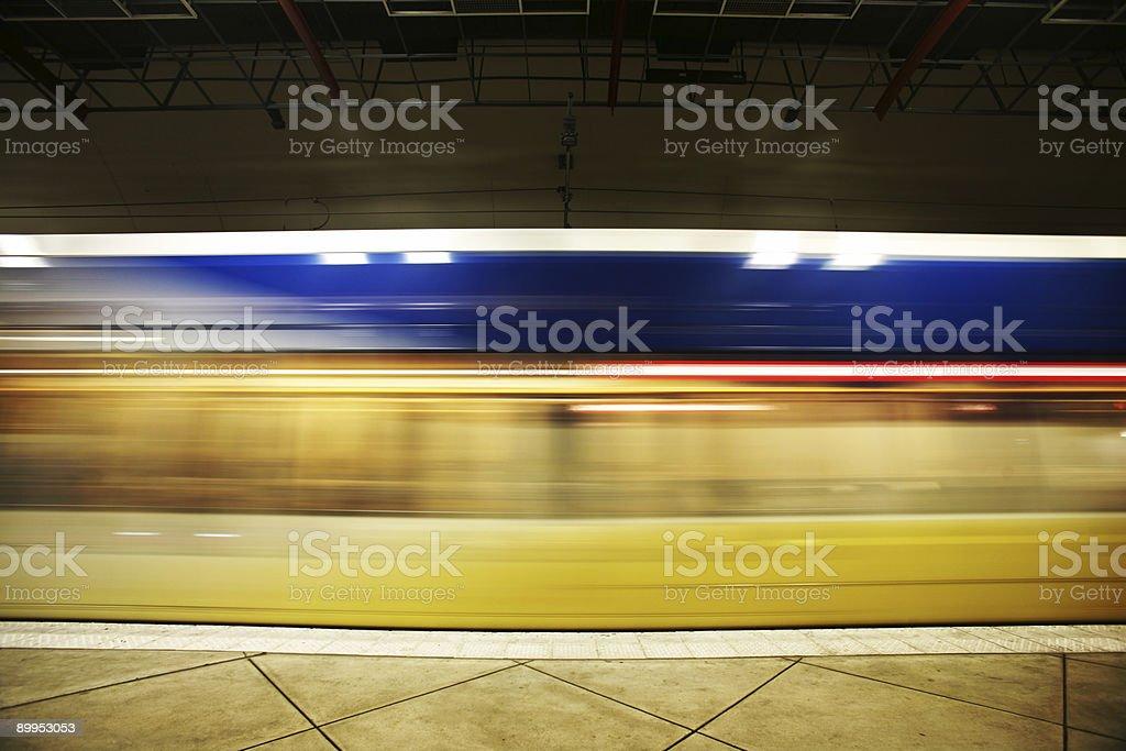 Public Transportation Train royalty-free stock photo