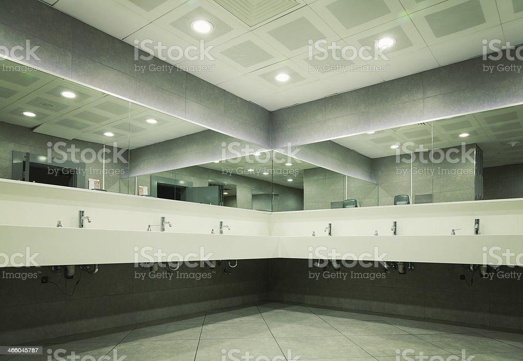 Public WC stock photo