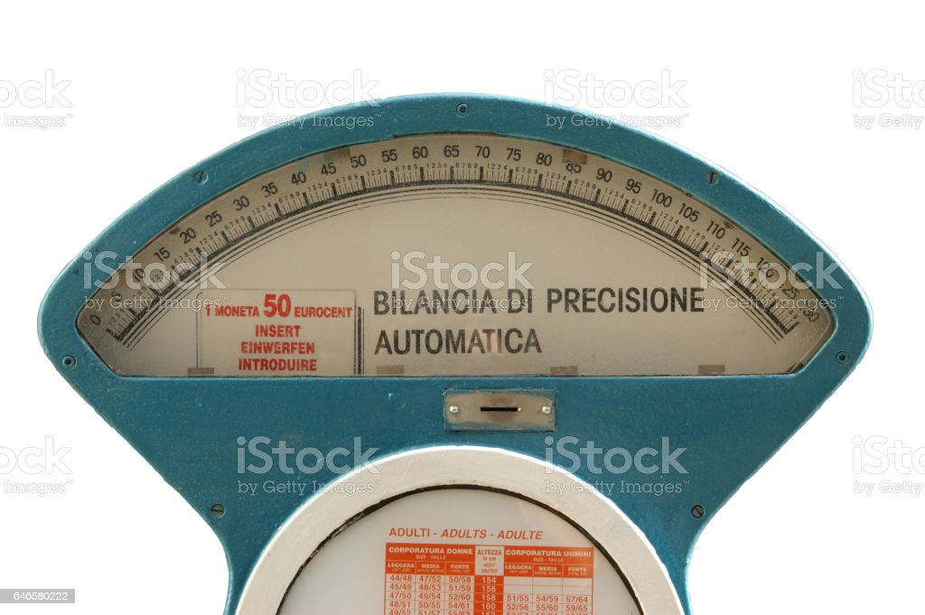 Public Weight stock photo