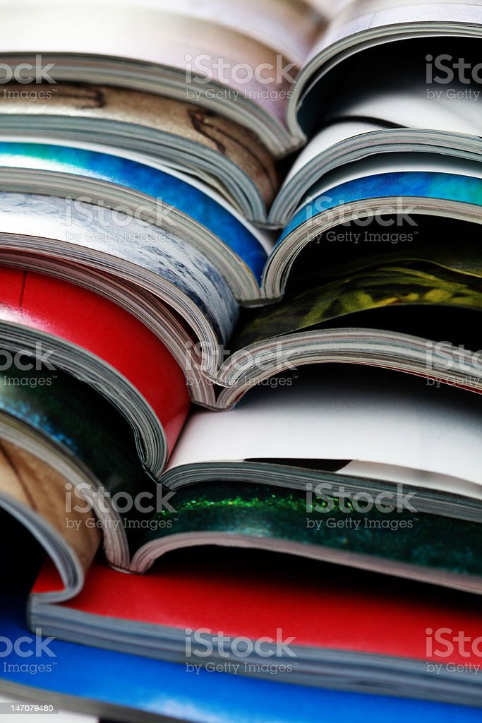 publications royalty-free stock photo