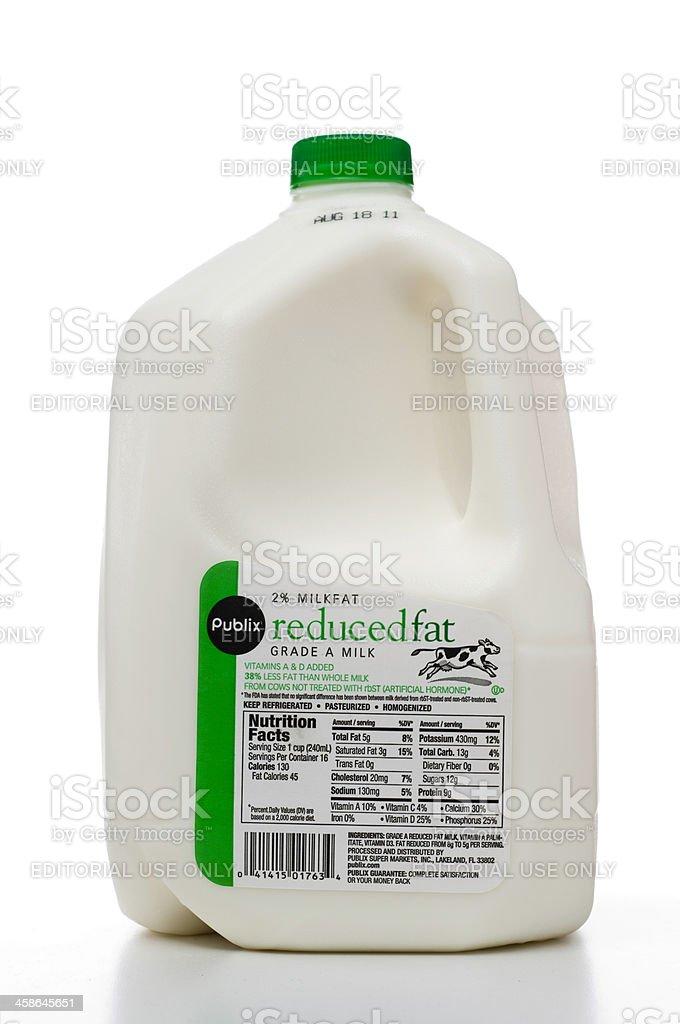 Publix Brand One Gallon Of Milk Stock Photo Amp More