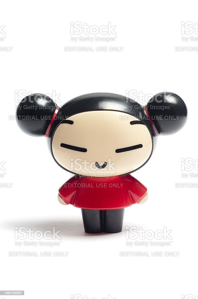 Pucca toy stock photo