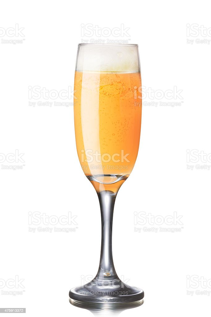 Puccini cocktail stock photo