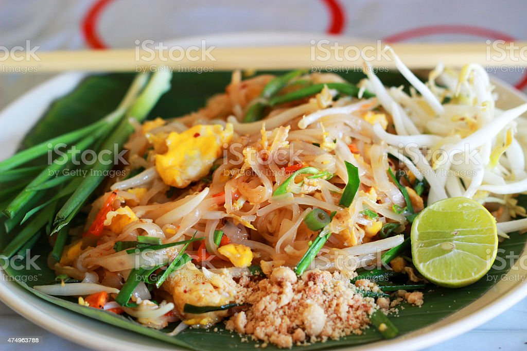 Pud Thai stock photo
