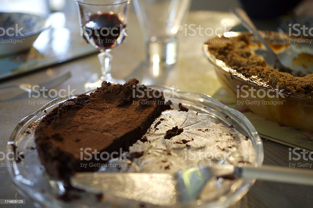 Pudding heaven! stock photo