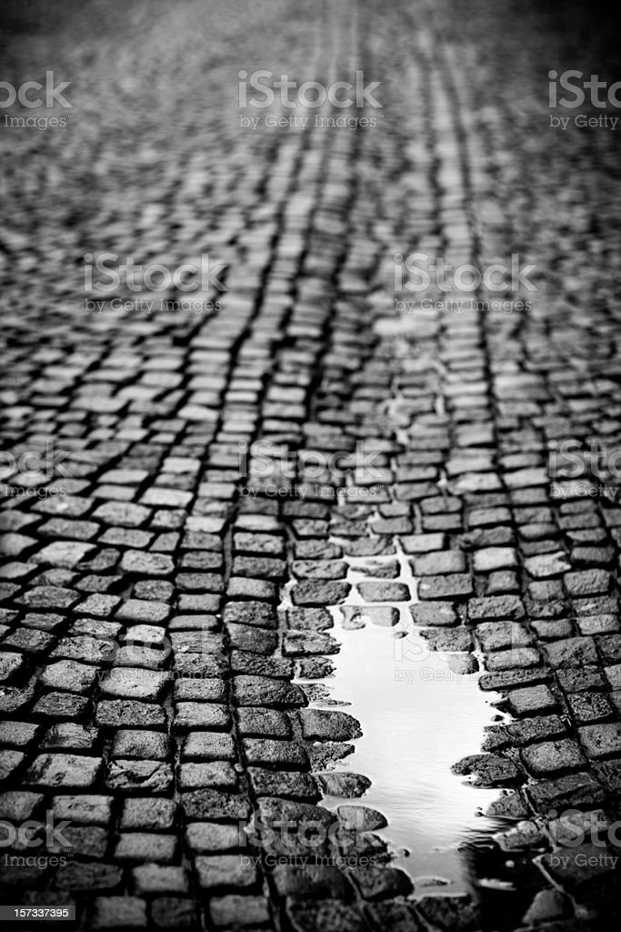 Puddle royalty-free stock photo