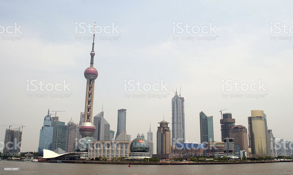 pudong shanghai royalty-free stock photo
