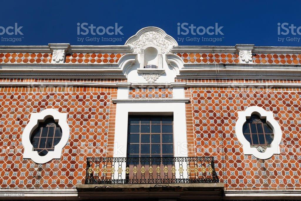 Puebla city in Mexico stock photo