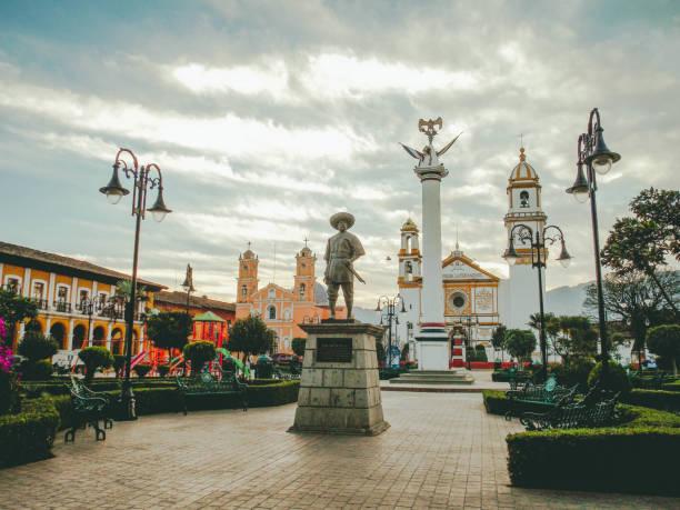 Puebla Centro Histórico de Zacapoaxtla, Puebla puebla state stock pictures, royalty-free photos & images