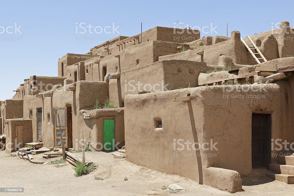 Pueblo Architecture royalty-free stock photo