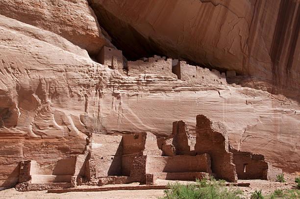 Pueblo Ruins in Arizona stock photo