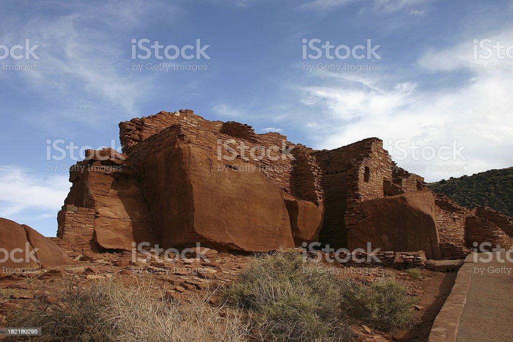 Pueblo Ruins royalty-free stock photo