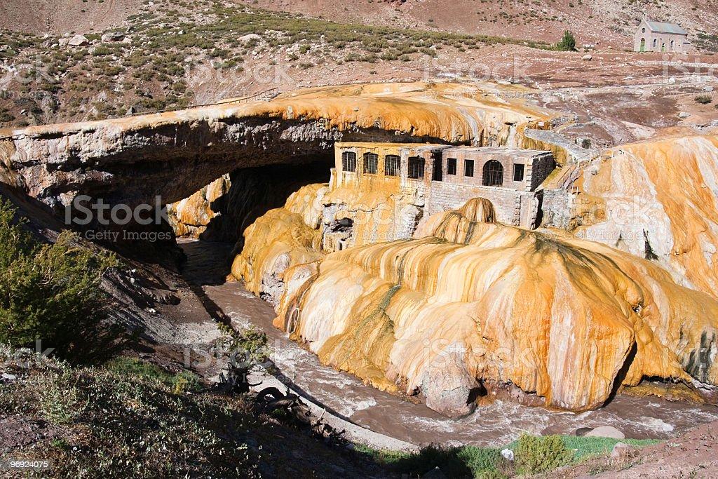 Puente del Inca royalty-free stock photo