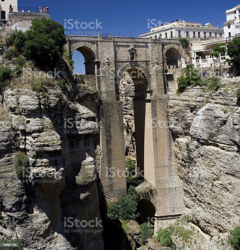 Puente Nuevo royalty-free stock photo