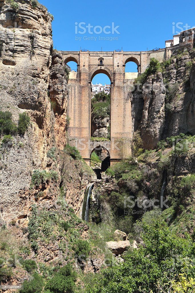 Puente Nuevo, Ronda, Spain royalty-free stock photo