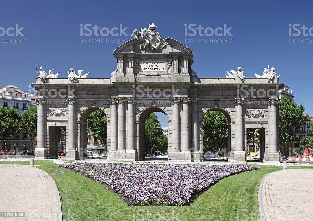 Puerta de Alcala, Madrid stock photo