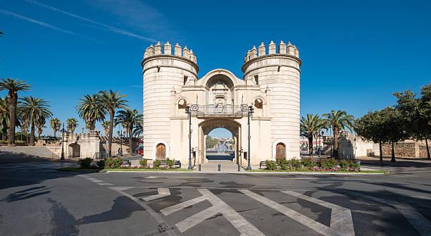 Puerta Palmas Badajoz - foto de stock