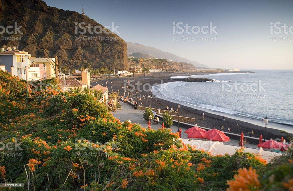 Puerto at La Palma royalty-free stock photo