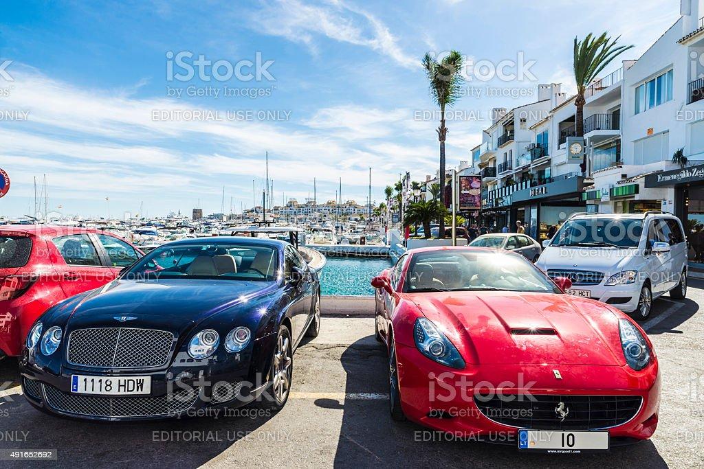 Puerto Banus, Andalusia, Spain stock photo