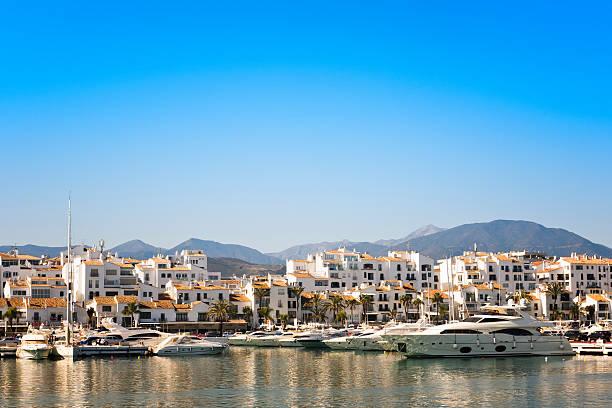 Puerto Banus, Marbella, Spain stock photo