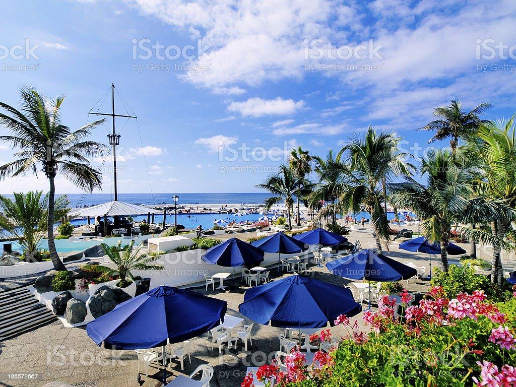 Puerto de la Cruz stock photo