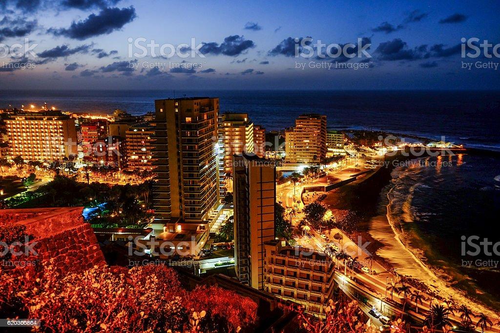 puerto de la cruz - tenerife zbiór zdjęć royalty-free