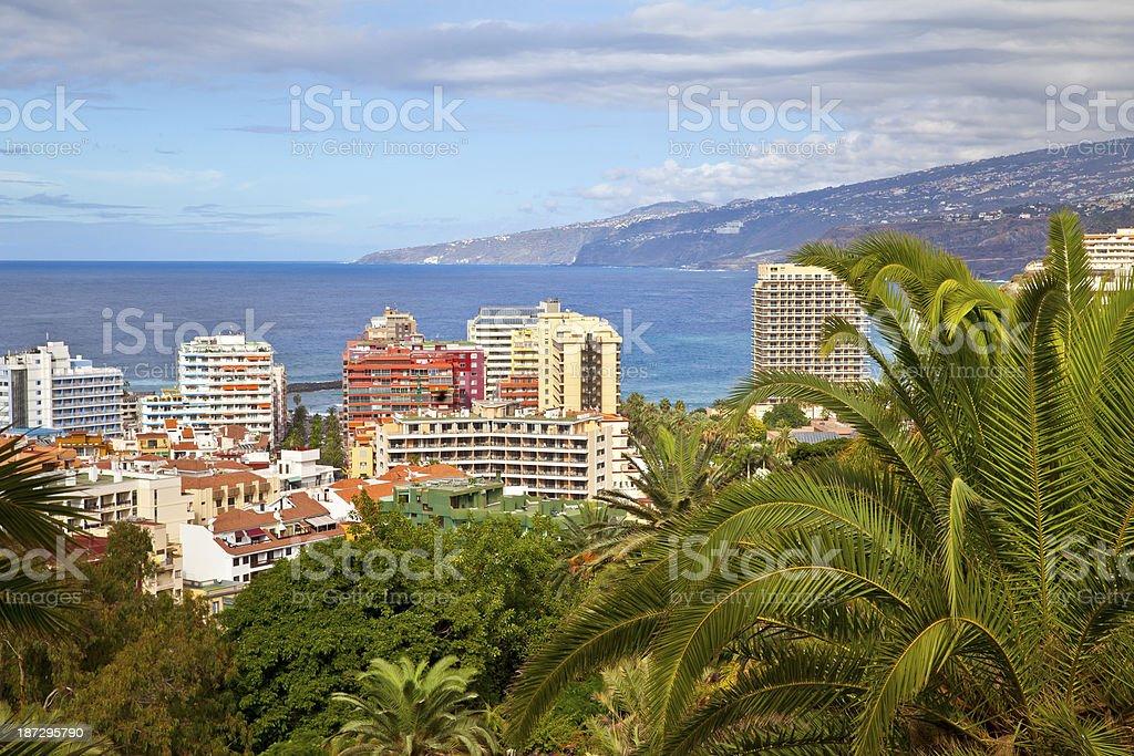 Puerto de la Cruz, Tenerife, Spain stock photo