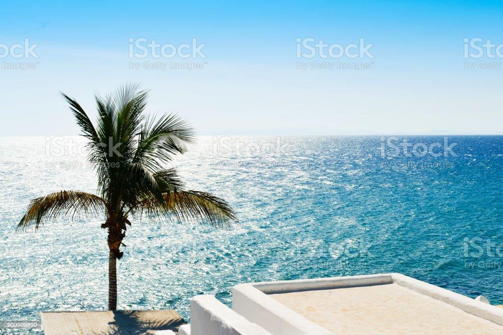 Puerto del Carmen, in Lanzarote, Spain stock photo