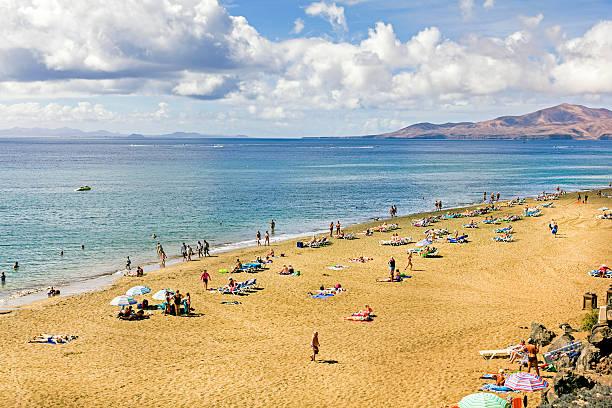 Puerto del Carmen, Lanzarote, Spain stock photo