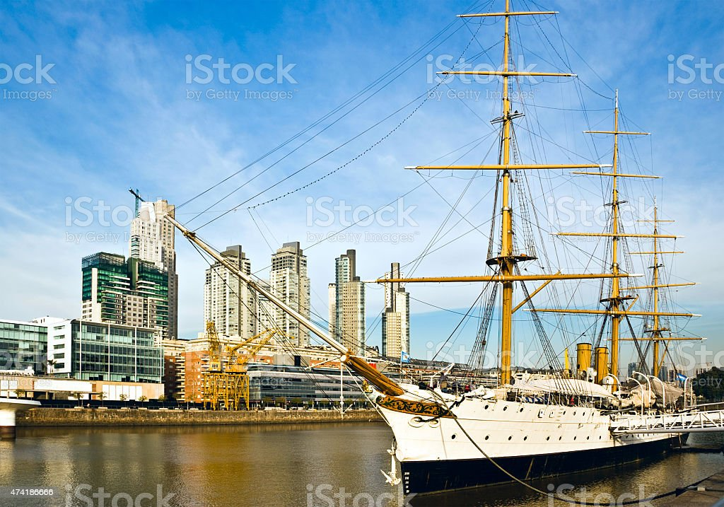 Puerto Madero, Buenos Aires, Argentina stock photo