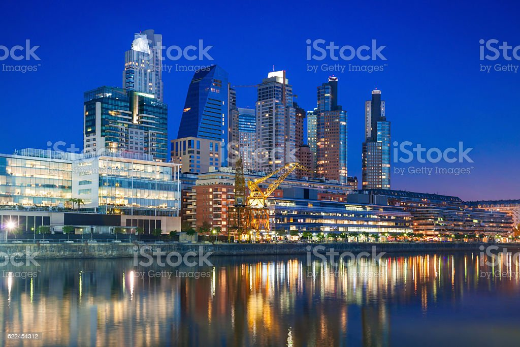 Puerto Madero, Buenos Aires stock photo