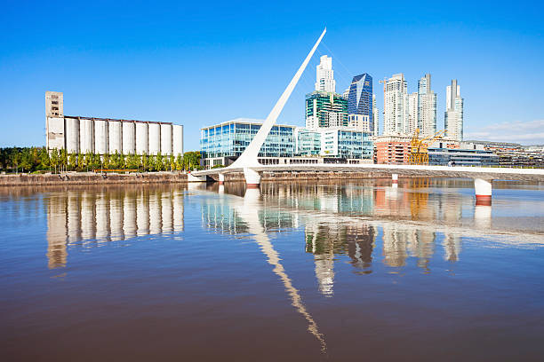 Puerto Madero, Buenos Aires stock photo