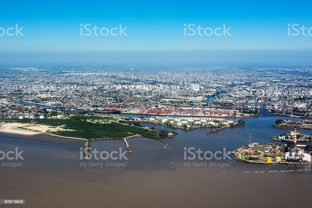 Puerto Madero district of Buenos Aires (Argentina) stock photo