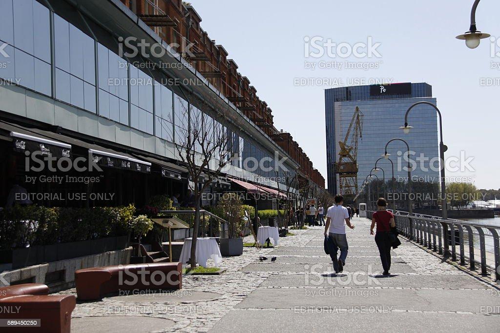 Puerto Madero stock photo