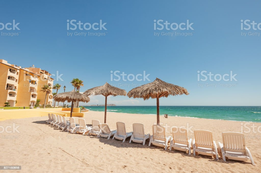 Puerto Penasco, popular holiday destination stock photo