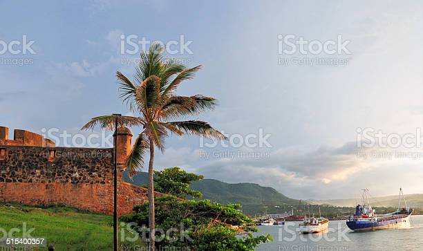 Photo of Puerto Plata, Dominican republic: fort and harbor