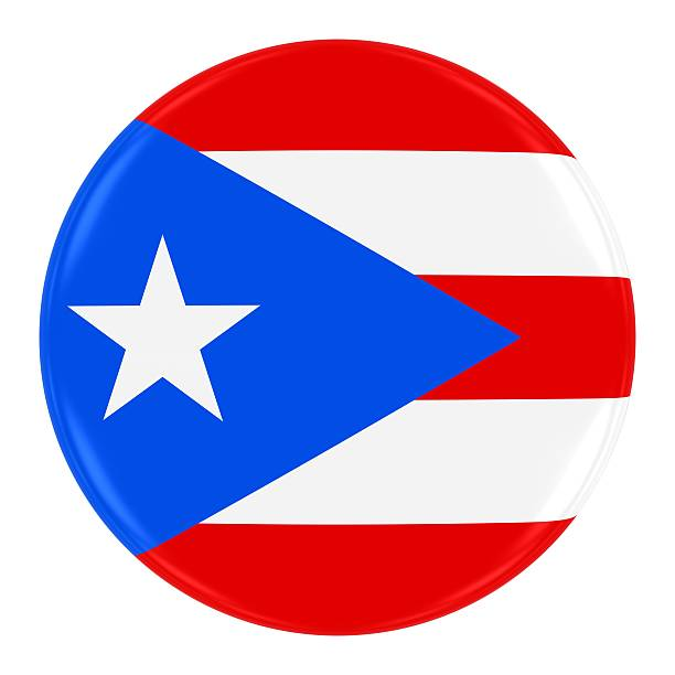 Silhouette Of The Puerto Rico Flag Designs Pictures Images And Stock Photos