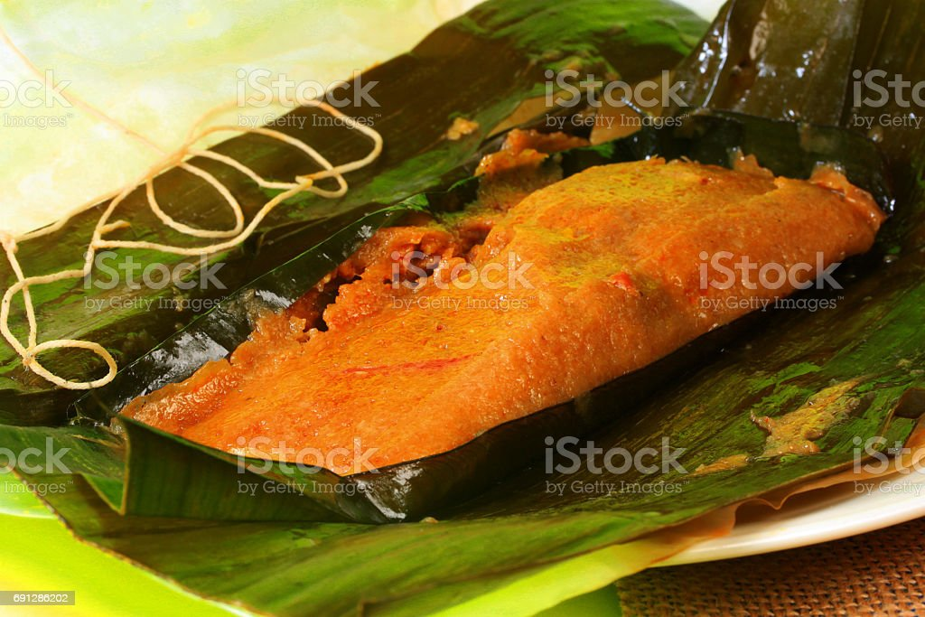 Puerto Rican Pasteles Traditional Food Stock Photo Download