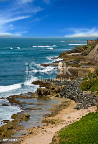 istock Puerto Rico Coast Line 182920393