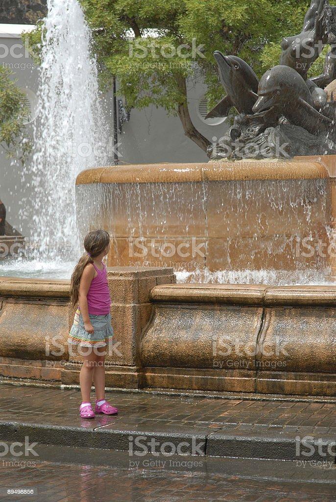 Fontaine série de Porto Rico photo libre de droits
