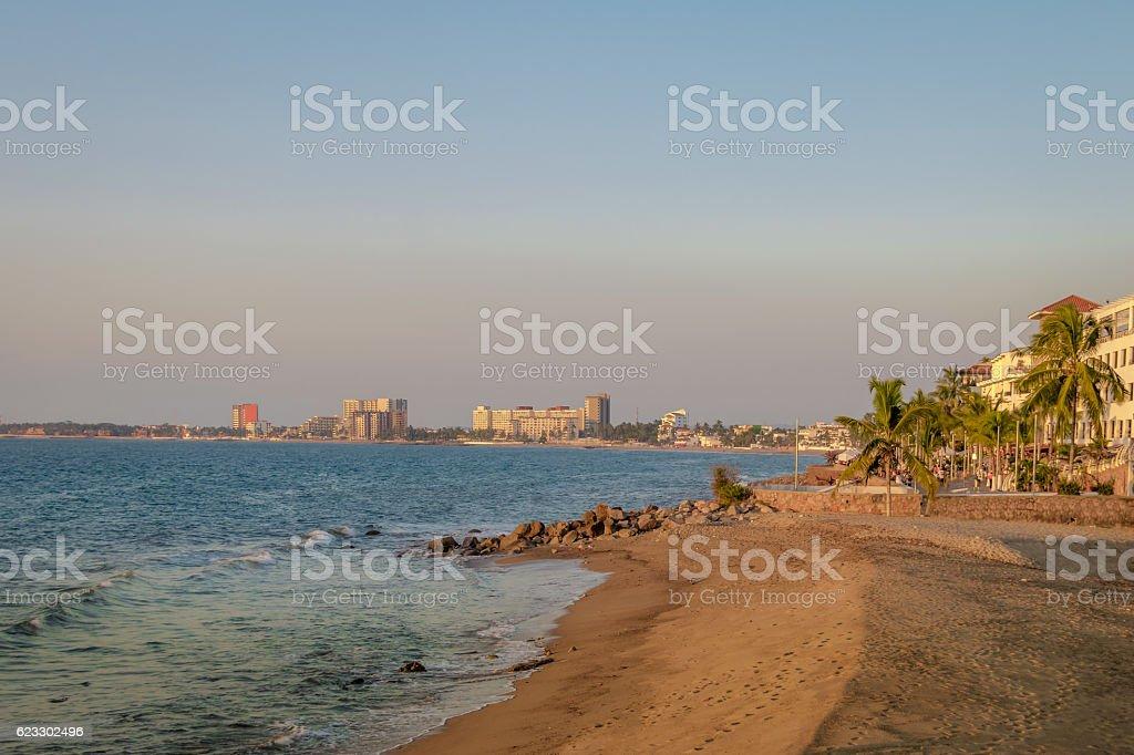 Puerto Vallarta beach - Puerto Vallarta, Jalisco, Mexico stock photo